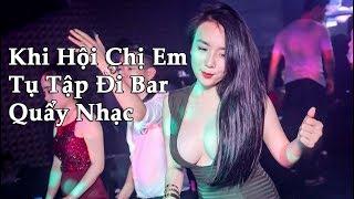 Khi Dàn Gái Xinh Đi Bar Quẩy Nhạc - 999 Đóa Hồng & Sài Gòn FLY