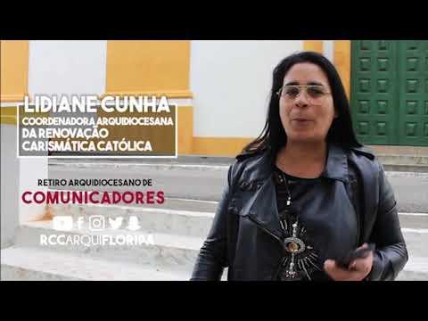 Retiro Arquidiocesano de Comunicadores   Convite de Lidiane Cunha