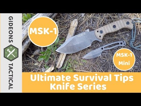 Ultimate Survival Tips MSK-1 Survival Knife