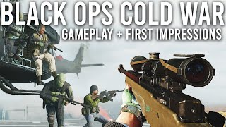 Call of Duty Black Ops Cold War Gameplay and Impressions
