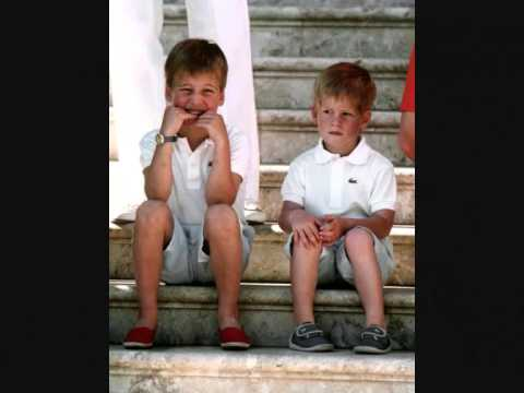 Members of the British Royal Family as Children:)