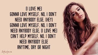 Hailee Steinfeld   Love Myself (Lyrics) 🎵