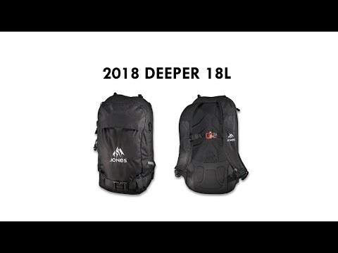Jones Snowboards 2018 Deeper 18L Pack