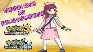 Consigue Todos Los Sets De Ropa Especial En Pokemon Ultra SOL Y LUNA