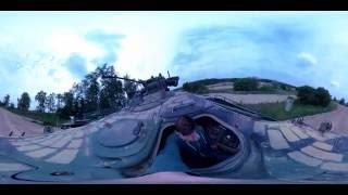 Wie im Film – Panzerfahren für jedermann - im 360°-Video   ScopeBerlin