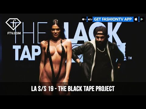 Los Angeles Fashion Week S/S 19 - Art Hearts Fashion - The Black Tape Project | FashionTV | FTV