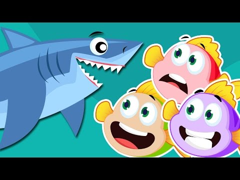 Three Little Fishies 🐟 🐟 🐟 | Three Little Fishies Song 🐟 🐟 🐟 | Nursery Rhyme With Lyrics