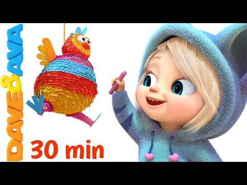 🙌 One, Two, Buckle My Shoe | Nursery Rhymes and Kids Songs | Dave and Ava 👞