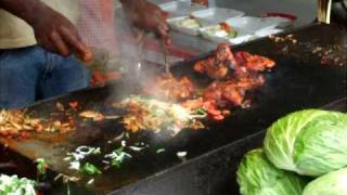 preview picture of video 'Tandoori BBQ at Hibiscus Festival 2009'