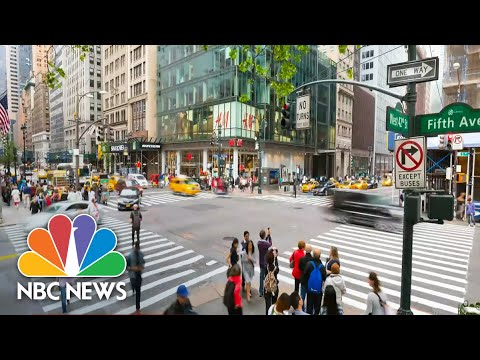 new york city at the epicenter of outbreak in the us nbc nightly news