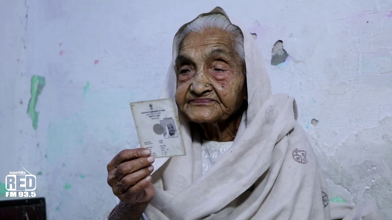 Story Of A 105 year old Voter