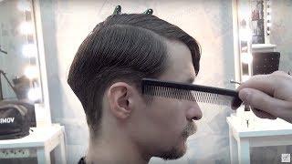 Урок для парикмахеров. МУЖСКАЯ СТРИЖКА полная версия мастер-класс. Артем Любимов Барбершоп обучение
