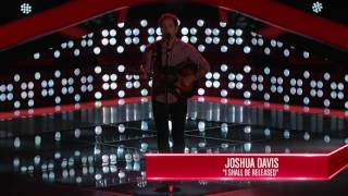 The Voice USA - Joshua Davis (I shall be Released)
