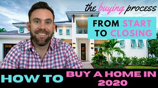 How To Buy A Home In 2020🏠 (The Home Buying Process from Start to Closing🔑)