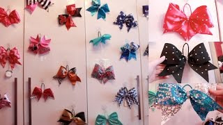 Cheer Bow Collection!