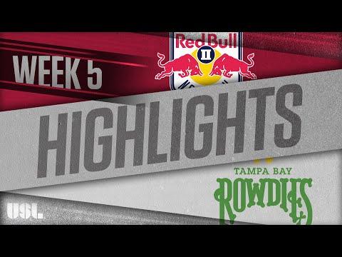 Нью-Йорк Ред Буллз-2 - Tampa Bay 5:0. Видеообзор матча 14.04.2018. Видео голов и опасных моментов игры