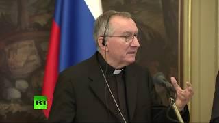Сергей Лавров и госсекретарь Ватикана подводят итоги встречи