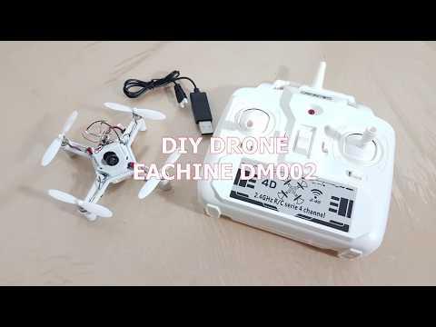 Unboxing - Ensamblaje del DM002 DIY MICRO FPV QUADCOPTER