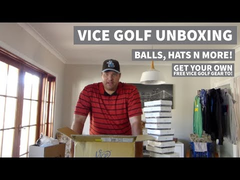 Vice Golf Gear Unboxing – Free Stuff for ME & YOU !!!!!