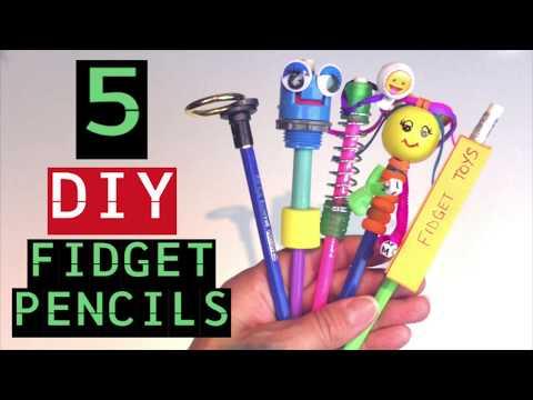 Diy Fidget Toy Pencils Diy Fidget Toys For School How To Make Pencil