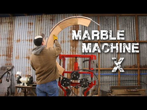 Fabricating metal parts for Wintergatan and the Marble Machine X [17:13]