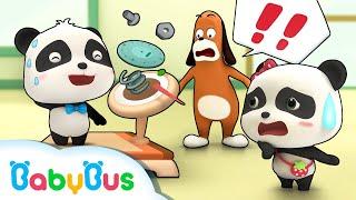 Ngày giảm béo của gấu trúc Kiki | Hoạt hình thiếu nhi vui nhộn | BabyBus cartoon