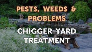 Chigger Yard Treatment