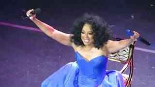 Happy Birthday Sung to Diana Ross - Q & A with It's Hard For Me To Say (Wynn Encore, Feb 22, 2019)