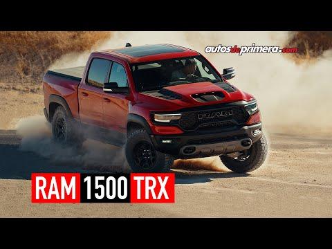 RAM 1500 TRX 2021 🔥 La pick up más poderosa del mundo 🔥 Lanzamiento