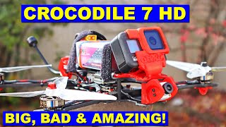 GEPRC Crocodile 7 HD is BIG, BAD & AMAZING! Review