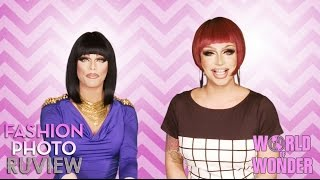 RuPaul's Drag Race Fashion Photo RuView with Raven & Morgan McMichaels - #WayBackWHENsday Pt 2