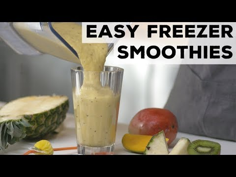 Easy Freezer Smoothies 5 Ways | Food Network