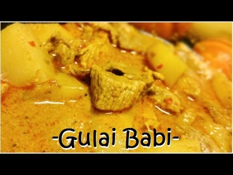 Resep Babi Gulai Andaliman Enak (Delicious Pork Curry Recipe)