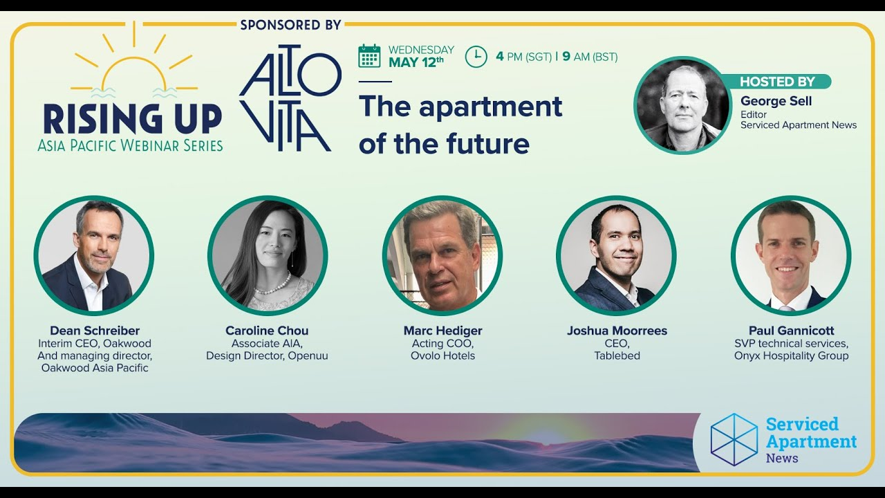 Rising Up APAC webinar 2: The apartment of the future