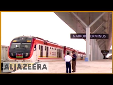 Kenya launches multi-billion dollar railway amid concerns over costs