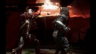 Спаун атакует Преисподнюю в Mortal Kombat 11