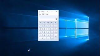 How To Get Windows 7 calculator in Windows 10