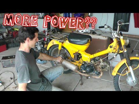 Big Bore Honda Trail 90 Project (Part 1: High Hopes)