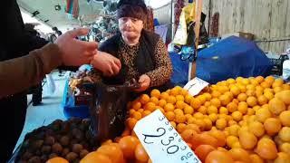 Овощной рынок в Тбилиси. Ассортимент, цены и качество. Сравниваем. 20.03.2018 год.