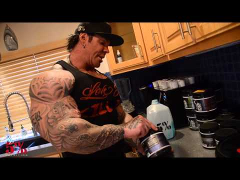 5% Rich Piana's Morning Routine pt1