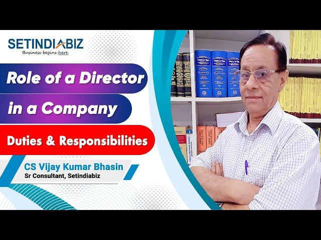 Company Director Change
