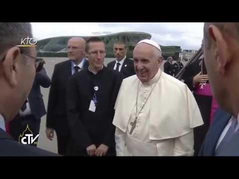 Arrivée du Pape François en Azerbaïdjan