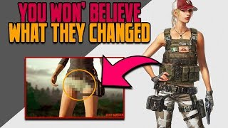 New PUBG Female Character Model Causes Outrage - Thoughts on This Character Update & The Outrage