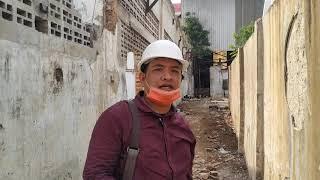 Bongkar Cerobong Asap Pabrik KIG Kedaung Jakarta Barat