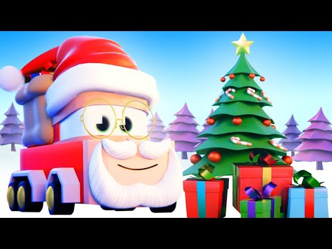 最好看的儿童汽车卡通片 - 圣诞卡车! - 卡车闯天下 Truck Games