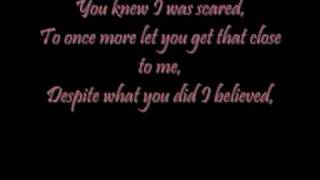Melissa Smith - I Believed lyrics