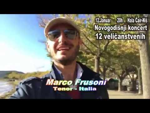 """Novogodišnji koncert """"12 veličanstvenih"""" u Nišu"""