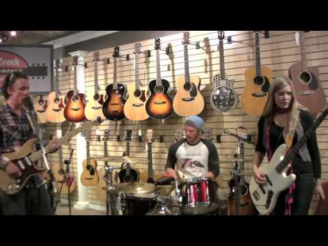 """Live From Castle Creek Guitars, """"Sunny Side Upside Down"""", Live Webcast 9-6-2012 Part One."""