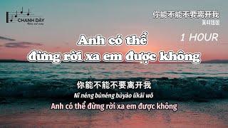 [1 HOUR] ANH CÓ THỂ ĐỪNG RỜI XA EM ĐƯỢC KHÔNG (你能不能不要离开我) - 莫叫姐姐 - Hot Douyin
