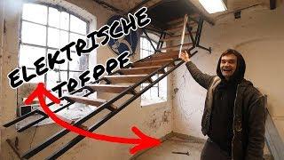 ELEKTRISCHE TREPPE für meine neue Werkstatt | Werkstatt4 F.03